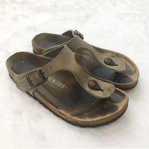 Like New Birkenstock Gizeh Thong Comfort Sandal
